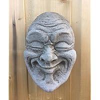 Gárgola de piedra el Señor Cara adorno de jardín