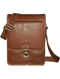 Kan 100% Genuine Leather Crossbody Sling Bag||Messenger Bag||Handbag||Hard Disk Bag||Neck Pouch||Shoulder Bag... - B06XKK1M8C