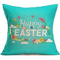 LEEDY Pascua Sofá Cama Decoración para el hogar Funda de Almohada Festival Funda de cojín Sueño