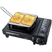 Toaster 4 Scheiben Campingtoaster für Gaskocher YELLOWSTONE Camping /& Outdoor