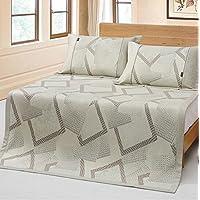 Preisvergleich für Sommerbettmatte Matten können gewaschen werden merzerisierte Eis Seide Sitze dreiteilig 1,5 m 1,8 m kann gefaltet werden klimatisierte Matte, 180 * 200cm Bett dreiteilig (ein Sitz zwei Kissenbezüge) ( Farbe : A , größe : 180*200cm )