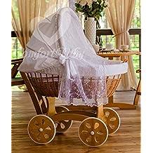 ComfortBaby ® HOME XXL Baby Stubenwagen mit Moskitonetz - komplette 'all inclusive' Ausstattung - Zertifiziert & Sicher
