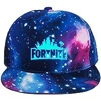Win-Y Fortnite Sombrero Gorra de Béisbol Ajustable para niños y Adultos Ciclismo Senderismo Leisure Cap (Estrellado)