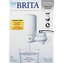 Brita on Tap Faucet Water Filter System, include: 1 sistema + 2 filtri