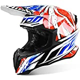 Airoh 2016 Twist MX VTT Casque de motocross – Leader Gloss – Bleu/Blanc/Rouge