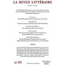 La Revue Littéraire n° 49