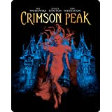 Crimson Peak Steelbook / Limited to 3000 copies / DTS X Soundtrack / Region Free Blu ray.