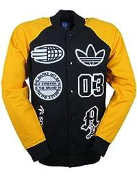 Adidas veste d'université pour homme avec lOGO de stade s27485 tT noir/jaune