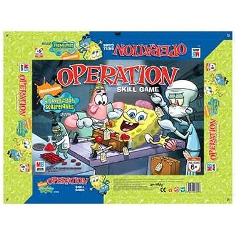 Hasbro Operación Bob Esponja - Juego de mesa