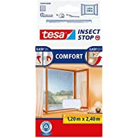 Tesa Insect Stop Comfort - mosquiteras (1200 x 10 x 2400 mm, 200g, ABS sintéticos, Color blanco, 454g)