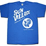 "Sun Village T shirt - for Frank Zappa hardcore afficionados! ""Hope That Wind Don't Blow"""