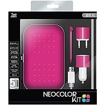 Two Dots - Kit Neocolor, Color Rosa (Nintendo 3DS XL)