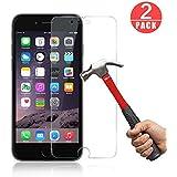 Verre Trempé iPhone 6 / 6S,[2 Pièces] Genki Ultra Clear Extreme Résistant Protection écran Film Protection iPhone 6 / 6s