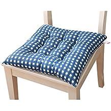 Fulltime (TM) colorido interior casa oficina cocina asiento almohadillas cojín para silla con lazos