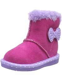 Skechers GlamslamCuddled N' Cozy - zapato botín de lona niña