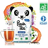 Panda Tea - Sleep Well - infusion bio - 28 sachets coton cousus à la main