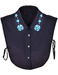 Femmes élégantes Fake Collier Détachable Dickey Blouse Half Shirts pour Sweater / toisons, # 06
