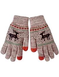 Magic Touch Screen Guantes de dedos completos, Haven Shop para mujeres y niñas, de