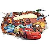 Kibi Stickers Muraux Cars 3d Disney Wall Decal Enfants Chambre Bébé Décoration Autocollants Muraux Cars Disney stickers Murau