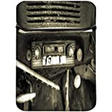 Old radio de coche 8A 8.6Inch Laptop Sleeve Case con cremallera y built-in 2bolsillos para cargador y ratón