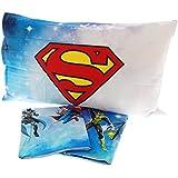 Juego Sábanas Colcha impresión digital Caleffi superhéroes Justice League 100% algodón con BALZA