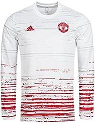 Manchester United adidas Herren Pre-Match Trikot Langarm S96154