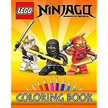 LEGO NINJAGO Movie: Coloring Book for Kids