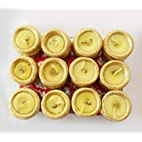 TiedRibbons® Matki Diyas | Diwali Candles And Diya | Scented Tealight Candles | Tea Light Scented Candles