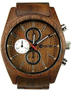 [Gesponsert]Holz Armbanduhr Niag