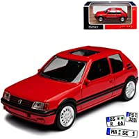 Peugeot 106 Electric Phase 2 5 Türer Weiss 1996-2003 1//43 Norev Modell Auto mi..
