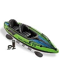 Intex Challenger K2 - Kayak hinchable, 351 x 76 x 38 cm