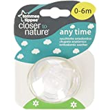 Tommee Tippee - 43336565 - Chupete Closer To Nature Any Time Silicona Tommee Tippee 0-6M surtido: colores/modelos aleatorios