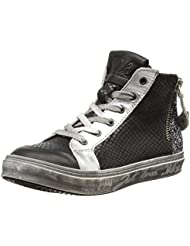 IKKS June, Sneakers Hautes fille, Marron (Vts Bronze/Zèbre Dpf/Torres), 40 EU