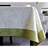 SCLOTHS Mantel de algodón clásico simple decoración de la Mesa de Comedor 135*180cm