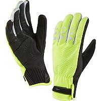 Handschuhe SealSkinz AllWeather Cycle XP schwarz/gelb Gr.XL (11)