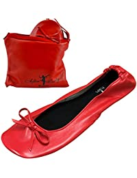 ffbad74aede29 After Party Pumps Ladies Roll up Shoes Fold up Pumps with Carrier Pouch 3  Ranges Original