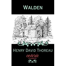 Walden (Coterie Classics) (English Edition)