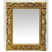 Specchio stile barocco cornice oro - Specchio cornice oro ...