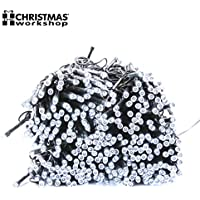 The Christmas Workshop 600 LED String Lights, Bright White