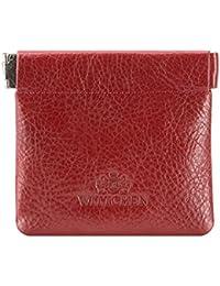 ea3fa0cb09fb Wittchen Portefeuille   Couleur  Rouge   Matériel  Cuir de grain   Taille   9 x 8 CM   Orientation  Horizontalement   Collection …