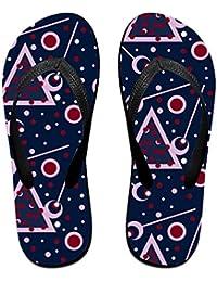 BYDGXGXD Sandalias de goma para playa con diseño de burbujas en el espacio, para mujeres