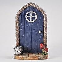 Figurita decorativa de puerta de hadas.
