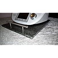 Gleitbrett Rollbrett Gleiter Granit für Thermomix TM5, TM31 standfest + beweglich -