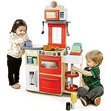 Little Tikes Cook 'n Store Kitchen Cocina y comida Estuche de juego 32pieza(s) - juguetes de rol para niños (Cocina y comida, Estuche de juego, 2 año(s), Niño/niña, Multicolor, De plástico)
