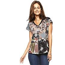Desigual Camiseta de mujer silenciado Katia