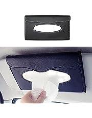Vetra Car Sun Visor Tissue Paper Box Dispenser with Free Tissues Black for Renault Fluence