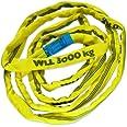 Brun GmbH brun 30031RS rundslang 3 000 kg bärkraft, 3 m omkrets, oändlig med polyesterkärna, gul