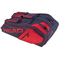 Head Core 9R Supercombo Raqueta de Tenis Bolsa, Color Azul Oscuro y Rojo, tamaño Talla única