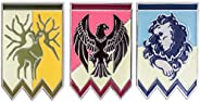 Xcostume Fire Emblem Three Houses Pins Protagonist Badges 3pcs & Wedding Ring & Byleth Necklac