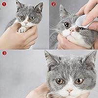 PowerBH - Toalla de Limpieza para Perros y Gatos, para Mascotas, toallitas limpias y